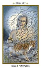 King of Pentacles - Ahau Kin
