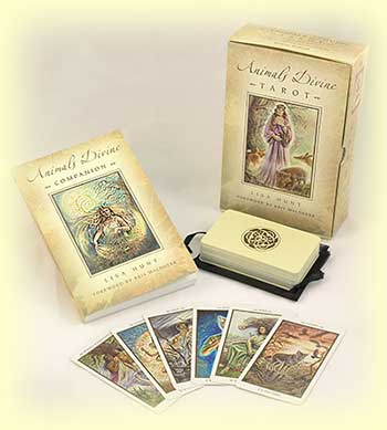 The Animals Divine Tarot kit by Lisa Hunt
